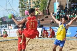 مسابقات هندبال ساحلی کشور در چهارمحال و بختیاری آغاز شد