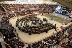 صوبہ کردستان میں 5400 شہیدوں کی یاد میں تقریب منعقد