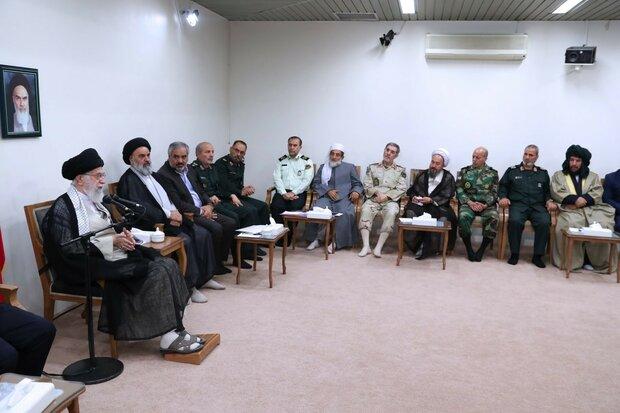 قائد الثورة الإسلامية: الشهادة في كردستان اقترنت بالتضحية والجهاد