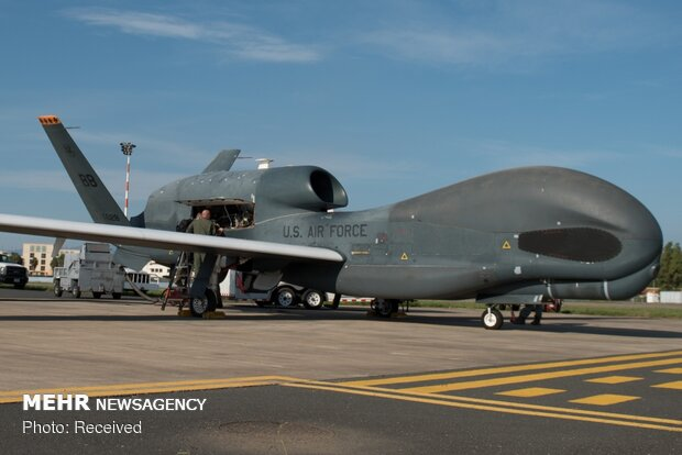 تعرف على طائرة التجسس الامريكية التي اصطادها الحرس الثوري