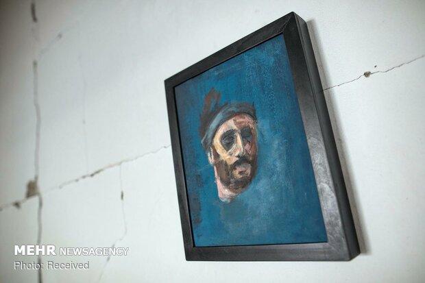 آثار هنرمند فلسطینی بر روی دیوارهای غزه