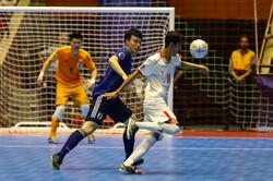 پیروزی پرگل تیم فوتسال زیر ۲۰ سال ایران مقابل اندونزی در نیمه اول