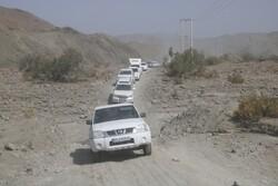 بالغ بر ۴۳۰ کیلومتر راه روستایی در شهرستان بشاگرد در حال اجرا است
