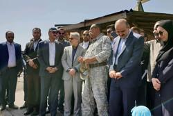 معاون رئیس جمهور از بوستان باراجین قزوین دیدن کرد