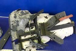 قطعات پهپاد شکار شده آمریکا به نمایش درآمد