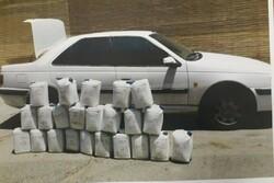 کشف بیش از ۴ تن مواد مخدر در میناب
