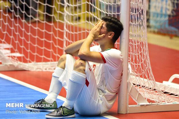 دیدار تیم های ملی فوتسال زیر ۲۰ سال ایران و ژاپن