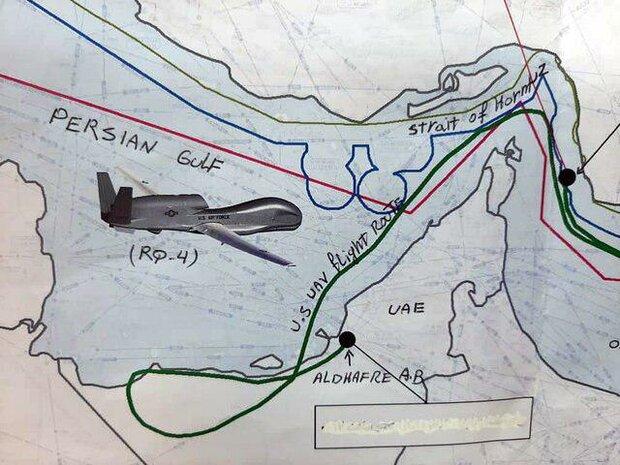 الغارديان: ايران أسقطت أكبر واعقد طائرة مُسيرة امريكية بصاروخ أرض- جو