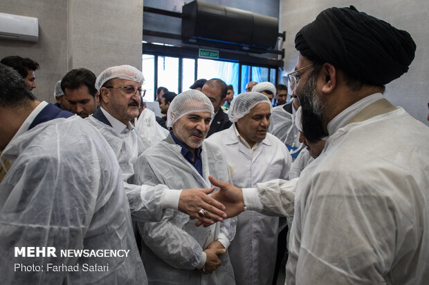 Vice President inaugurates a production unit in Qazvin