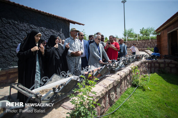 Vice President's two-day visit to Qazvin