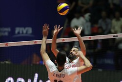 Iran vs Portugal at 2019 VNL Week 4