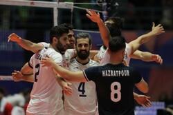 İran Erkek Milli Voleybol Takımı, Portekiz'i 3-1 mağlup etti