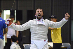 Abedini win Iran's first ever medal at World Fencing Championships