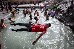 """السباحة في عين """"علي"""" بطهران/صور"""