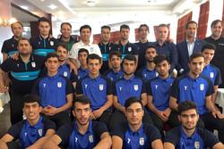 حضور ناظم الشریعه و شمسایی در اردوی تیم فوتسال زیر ۲۰ سال