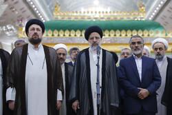 ایرانی عدلیہ کے سربراہ کا حضرت امام خمینی (رہ) کے حرم میں حضور