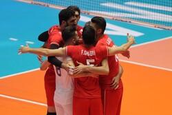 İran voleybol takımı finale yükselmeyi garantiledi
