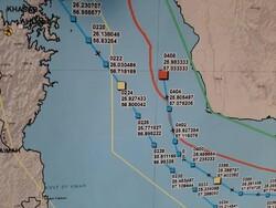 Zarif, düşürülen ABD İHA'sının iz haritasını paylaştı