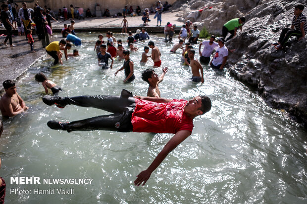 Swimming into Cheshmeh-Ali