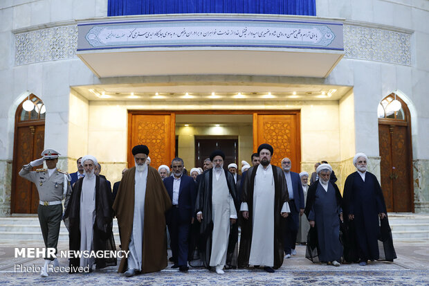 Judiciary officials renew allegiance with Imam Khomeini (RA) ideals on Judiciary…