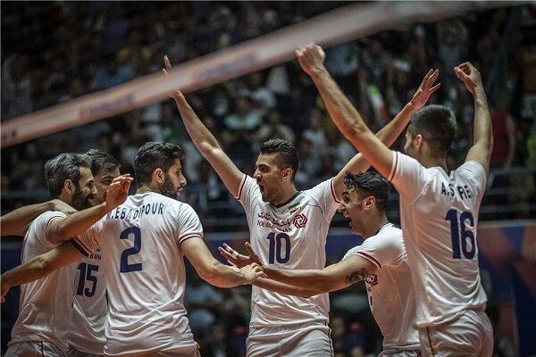 والیبال, لیگ ملت های والیبال, تیم ملی والیبال ایران