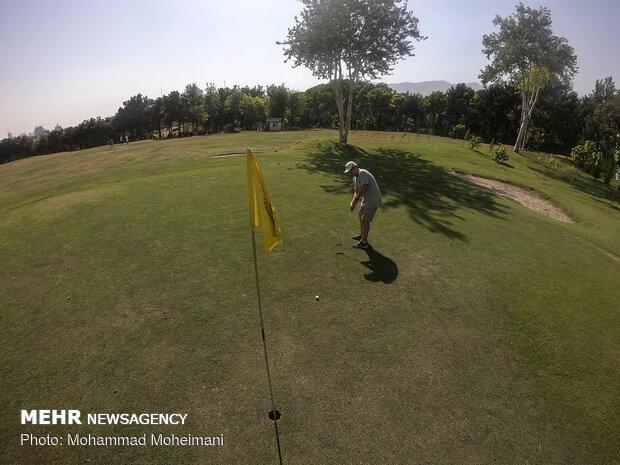 تمرینات تیم Iranian cadet national golf team trainingنوجوانان گلف
