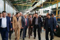 سفیر کشور ارمنستان از واحدهای مستقر در شهر صنعتی البرز بازدید کرد