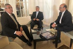 صالحی امیری با رئیس کمیته بینالمللی المپیک دیدار کرد