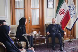 Larijani, IPU President meet in Tehran
