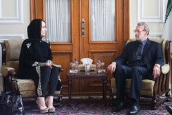 Parl. Speaker Larijani's meeting with IPU president