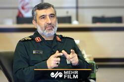 صحبتهای منتشر نشده سردار حاجی زاده درباره ساقط کردن پهپاد امریکا