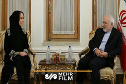 VIDEO: Meeting between Zarif, IPU president in Tehran