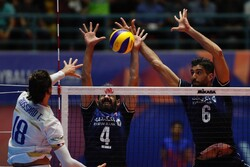 Iran volleyball loses to France 3-0 in 2021 VNL