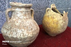 Parthian-era jars unexpectedly found in western Iran