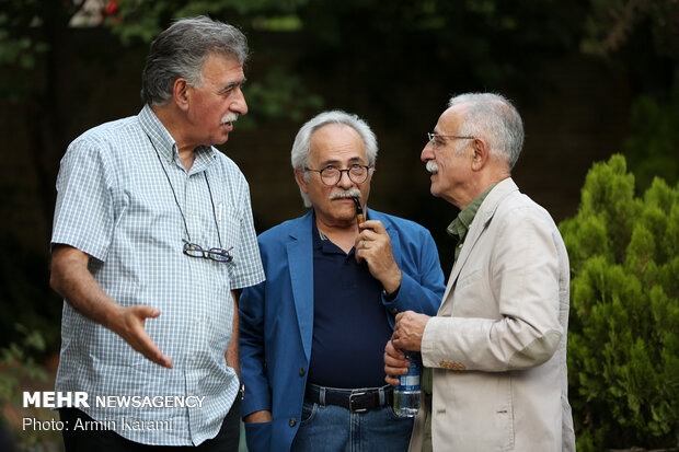Commemoration of Kiarostami in Tehran