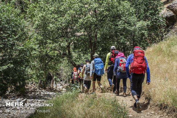 """وادي """"شيرز"""" سحر طبيعة جبال زاغروس"""