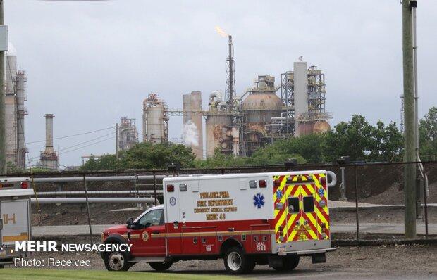 ABD'de rafineride büyük patlama