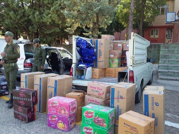 کشف بیش از ۴ میلیارد کالای قاچاق در پارسیان