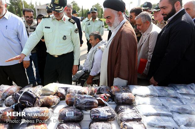 کشف کالاهای قاچاق در عملیات ظفر 21