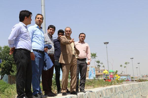 ۱۰ پروژه عمرانی شهرداری در شهر گلستان فعال است