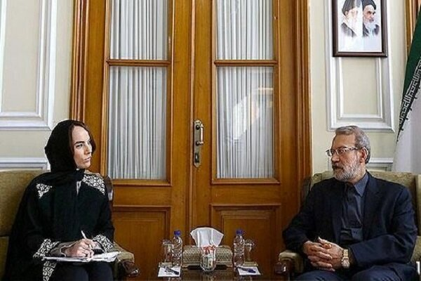 Larijani condemns US, its allies support for terrorism
