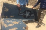 Iranian fisherman finds part of downed US spy drone wreckage