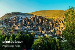 Kandovan breathtaking rocky village