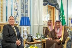 پمپئو: درباره امنیت کشتیرانی با پادشاه سعودی رایزنی کردم