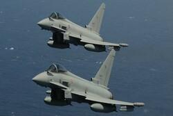 برخورد دو جنگنده «یورو فایتر» در آسمان آلمان