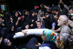 مدافع حرم شہید ابراہیم عشریہ کے پیکر سے الوداعی تقریب