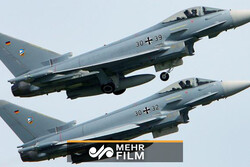VIDEO: Two German military jets collide