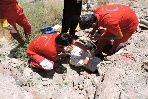۱۵۷ آسیب دیده از خدمات امدادی هلال احمر زیرکوه بهره مند شدند