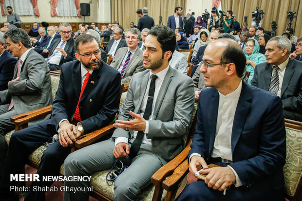 Ambassadors, charge d'affaires visit Judiciary chief