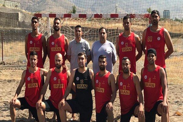 Iran ranked 3rd at Asian Beach Handball Championship